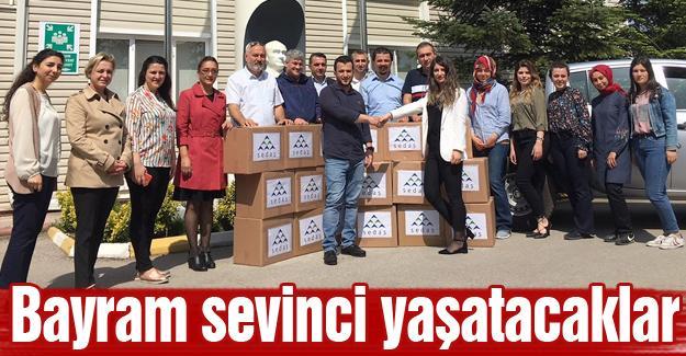"""SEDAŞ Gönüllüleri """"minik kalpler için el birliği"""" yaptı"""