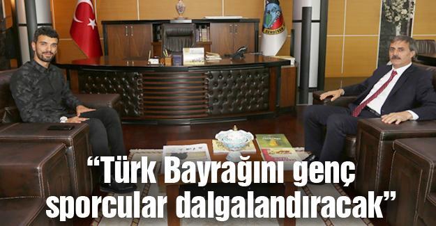 Sofuoğlu'ndan Başkan Alemdar'a ziyaret