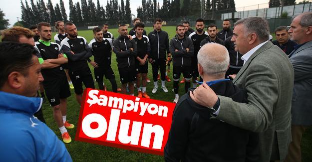 Toçoğlu Sakaryaspor'a destek verdi