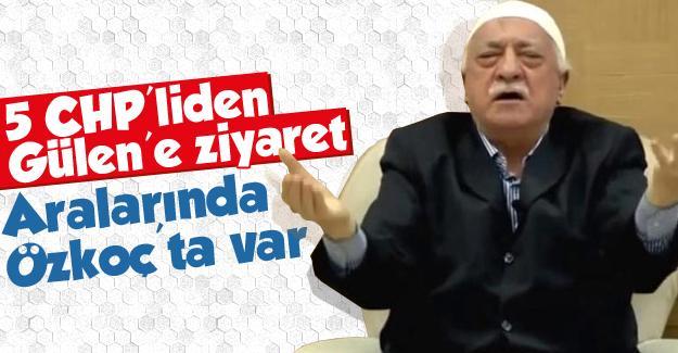 5 CHP'liden Gülen'e ziyaret