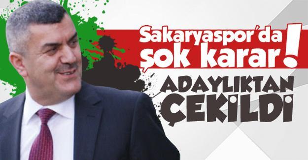 Sakaryaspor'da şok karar!