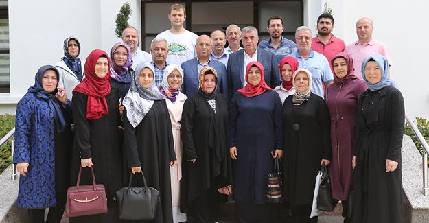 AK Parti Adapazarı'ndan ziyaret