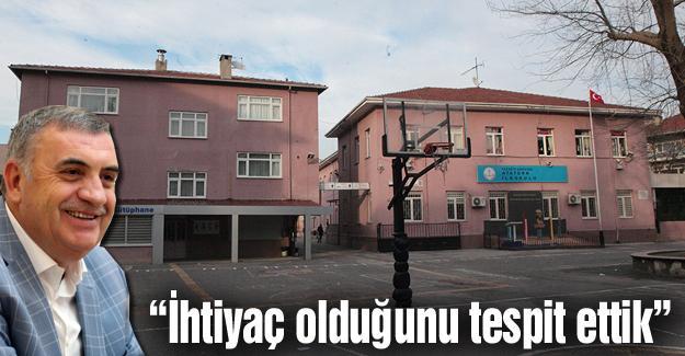 Atatürk ilkokulunun yeri otopark oluyor
