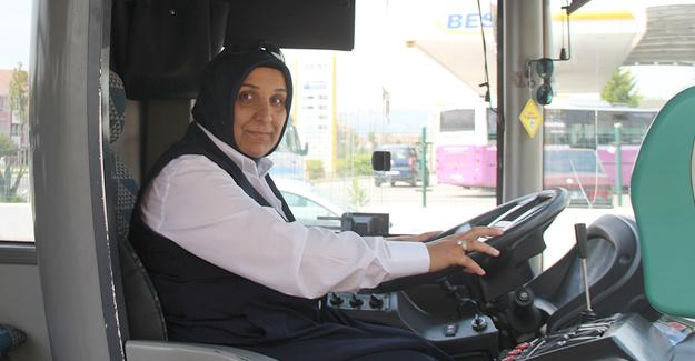 Ulaşım filosuna yeni kadın şoför