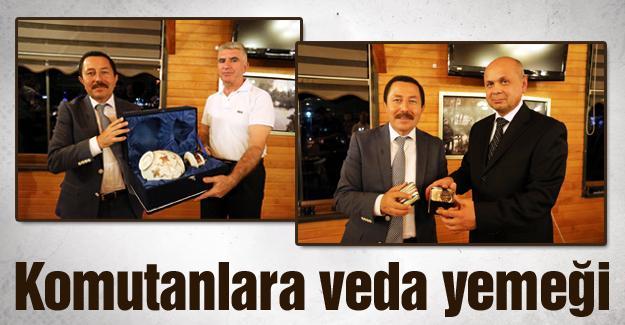 Albay Arıkan ve Albay Eren onuruna veda programı