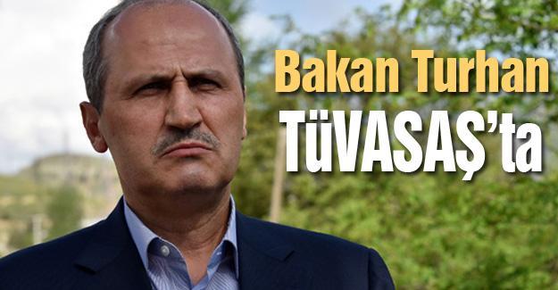 Bakan Turhan TÜVASAŞ'ta