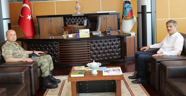 Garnizon Komutanı'ndan Başkan Alemdar'a veda ziyareti
