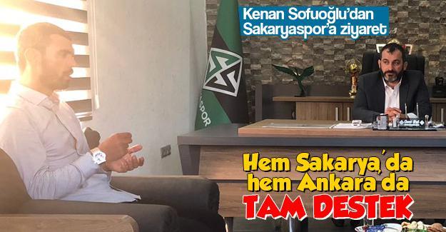 Kenan Sofuoğlu'dan Sakaryaspor'a ziyaret