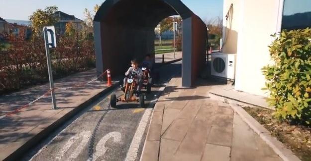 Serdivan Trafik Park yaz döneminde de çok renkli