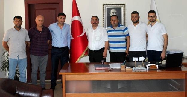SOSEDD'den Başkan Karakullukçu'ya ziyaret
