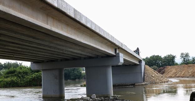 65 metrelik yeni köprü gün sayıyor