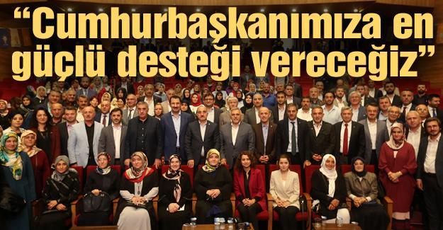 AK Parti 70. Genişletilmiş toplantısı yapıldı