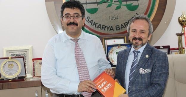 Başkan Çitil'den, Başkan Kazan'a ziyaret