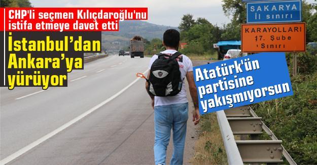 CHP'li seçmen Kılıçdaroğlu'nu istifa etmeye davet etti