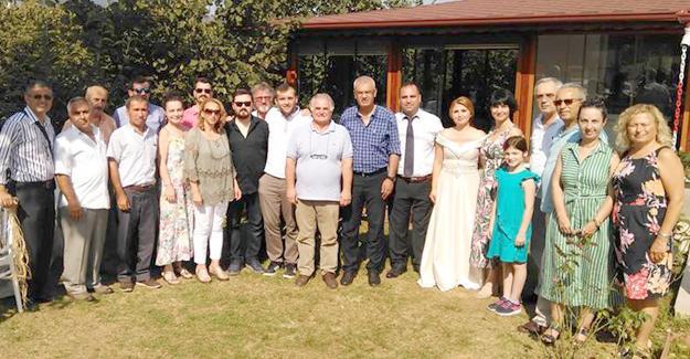 Cumhuriyet Halk Partililer düğünde buluştu