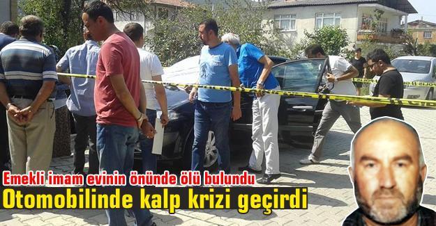 Emekli imam evinin önünde ölü bulundu