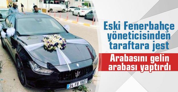 Eski Fenerbahçe yöneticisinden taraftara jest