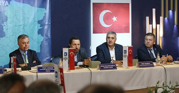 Karadeniz Oda Başkanları toplandı