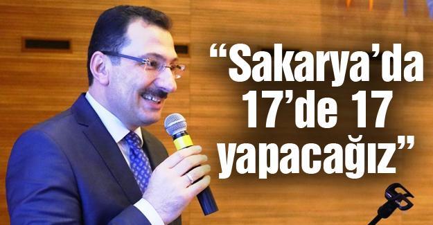 Serdivan'da 59. Danışma Meclisi
