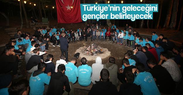 AK Partili gençler kampta buluştu
