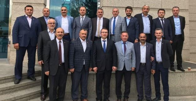 Başkan Karakullukçu'dan AK Parti Genel Merkeze ziyaret