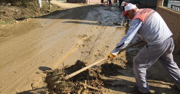 Karasu Belediyesi'nden Kaynarca'ya destek