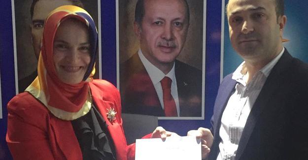 Semiha Bafralıoğlu başvurusunu yaptı