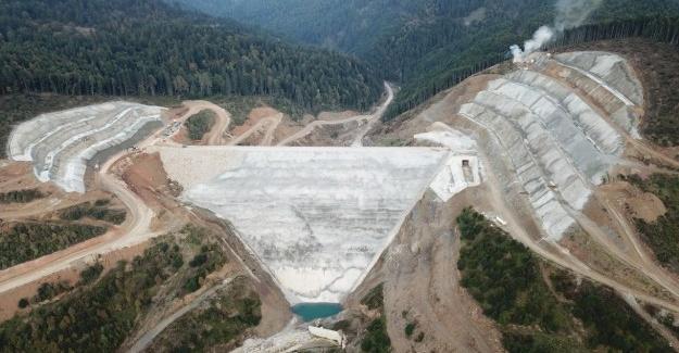 Akçay Barajı tamamlanıyor