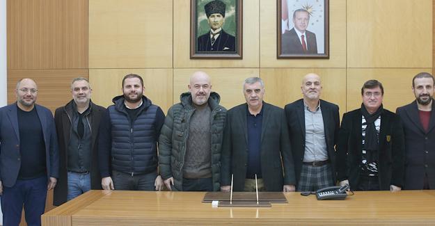 Basketbol kulübü yönetiminden Toçoğlu'na ziyaret