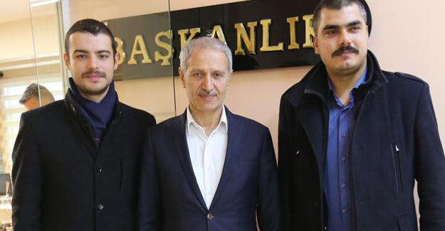 BBP ilçeden Başkan Dişli'ye ziyaret