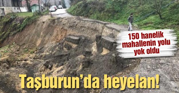 150 hanelik mahallenin yolu yok oldu