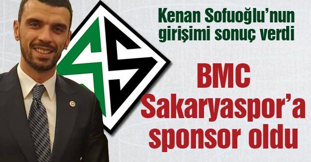 BMC Sakaryaspor'a sponsor oldu