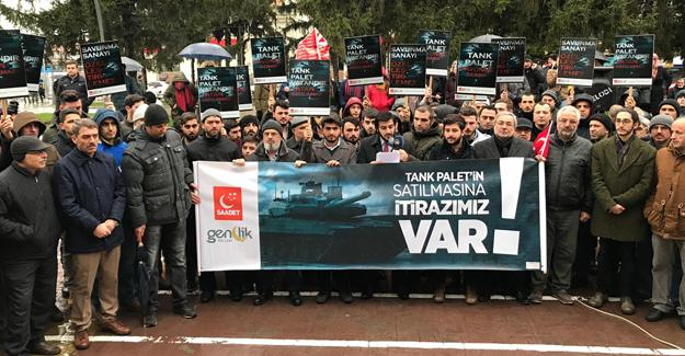 Saadet Partisi'nden Tank Palet açıklaması