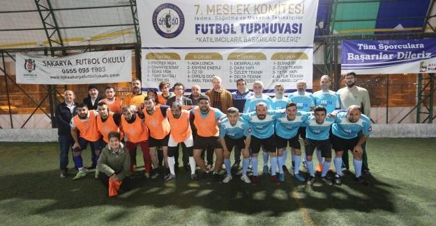 SATSO 7. Meslek Futbol Turnuvasında ilk hafta maçları tamamlandı