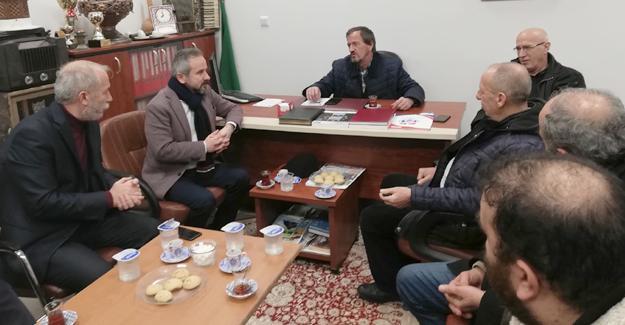 Zafer Kazan'dan Bosna Sancak Derneğine ziyaret