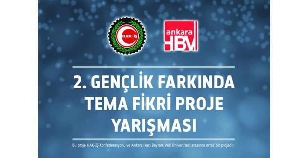 HAK-İŞ'ten proje yarışması