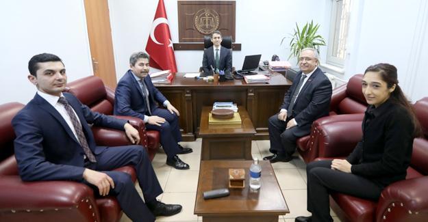 Vali Nayir'den yargı mensuplarına iade-i ziyaret
