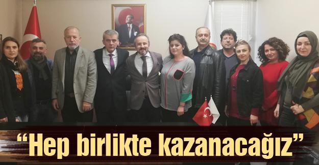Zafer Kazan Kuaförler Odasını ziyaret etti