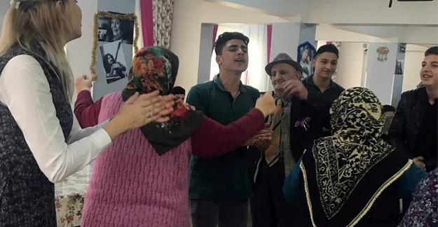 Fatih MTAL'den huzurevi ziyareti