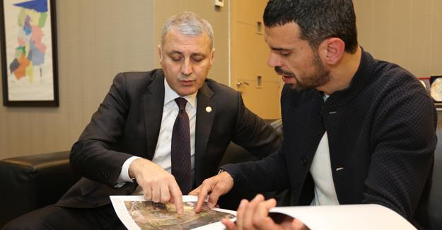 Milletvekili Sofuoğlu'ndan SATSO'tay ziyaret