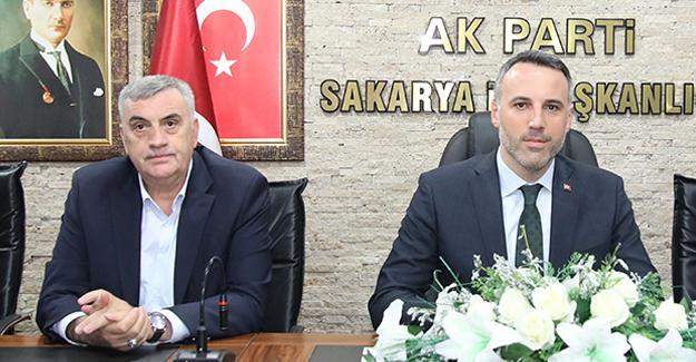 Toçoğlu'ndan AK Parti'ye ziyaret