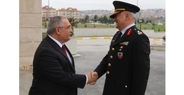 Tuğgeneral Çırakoğlu'ndan Vali Nayir'e ziyaret