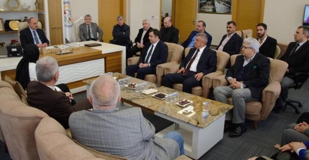 Başkan Kılıç'a ziyaretler sürüyor