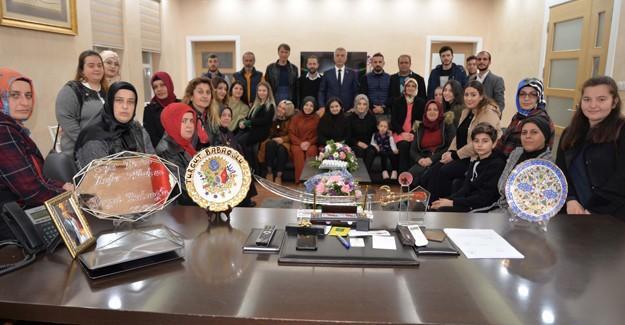 BBP'li kadınlardan Babaoğlu'na ziyaret
