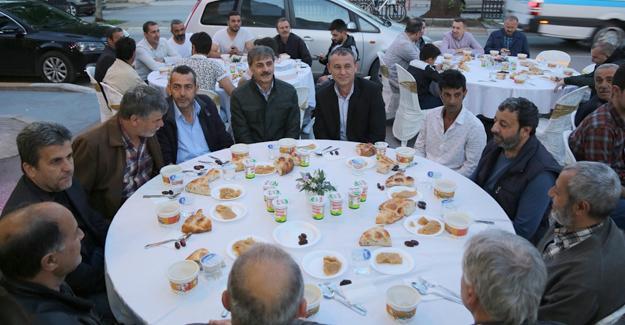 Başkan Alemdar esnaf iftarında