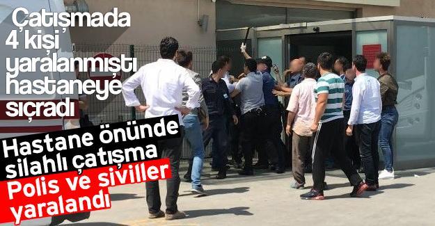 Çatışmada polis ve siviller yaralandı!