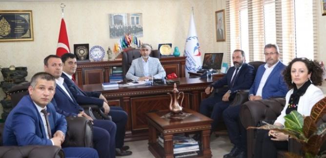 Federasyon Başkanı'ndan İl Müdürü Özsoy'a ziyaret