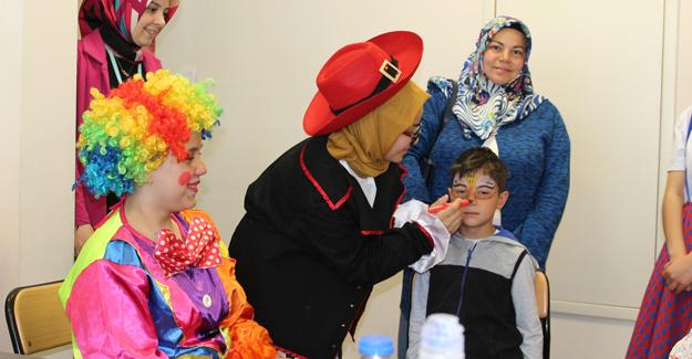 Karasu Devlet Hastanesinde Cesur Çocuklar Projesi