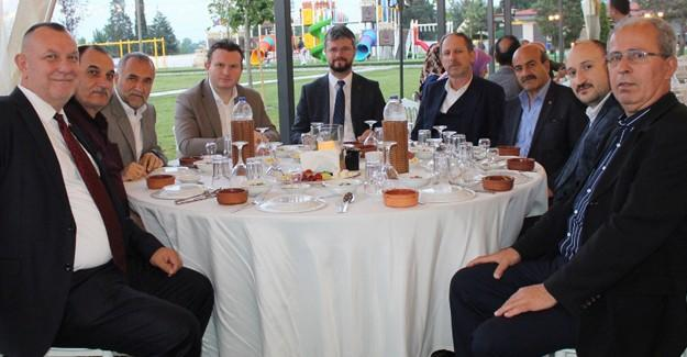 MHP İl Yönetimi iftar için toplandı