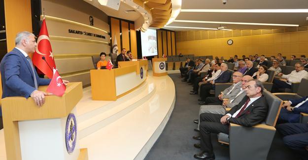SATSO Meclis toplantısı yapıldı